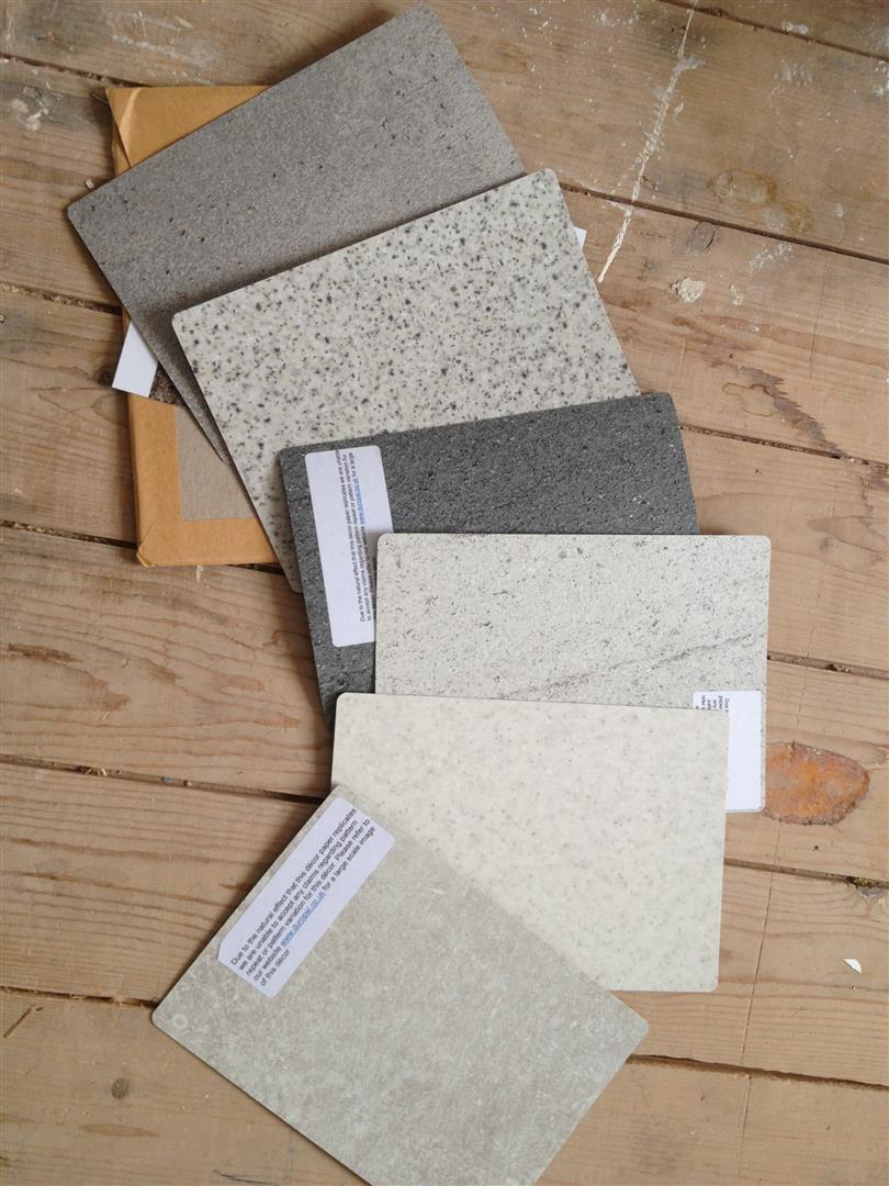 Choosing kitchen worktops - Laminate