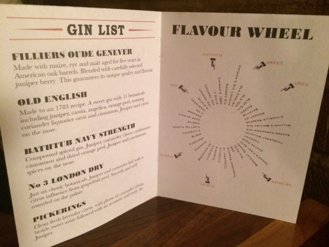 gin tasting london gin club