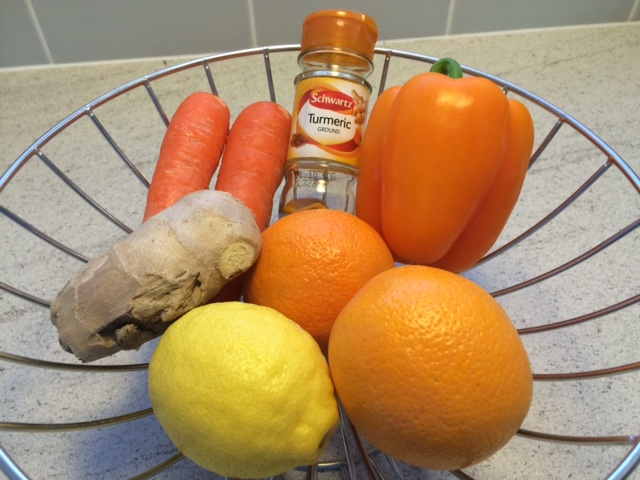 juicing-for-colds-ingredients