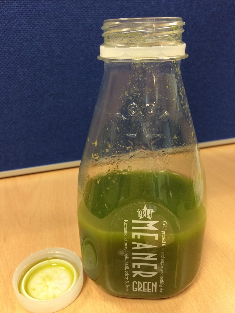 Pret Mean Green Juice