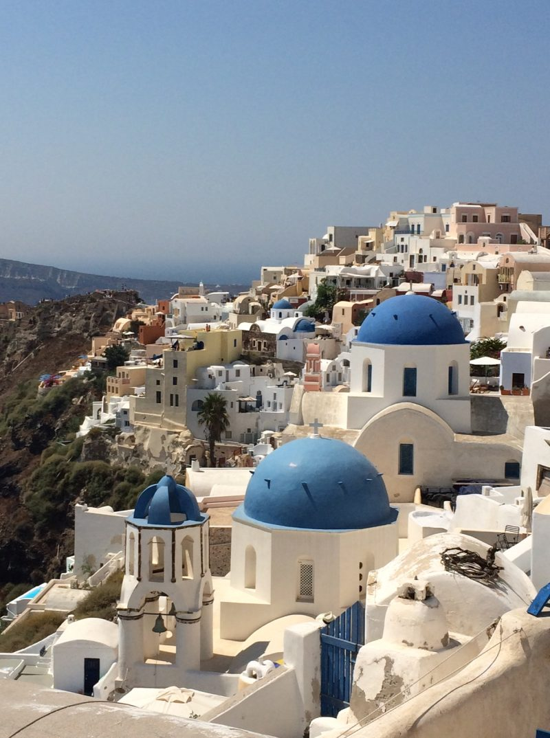Top 5 European Destinations - Santorini