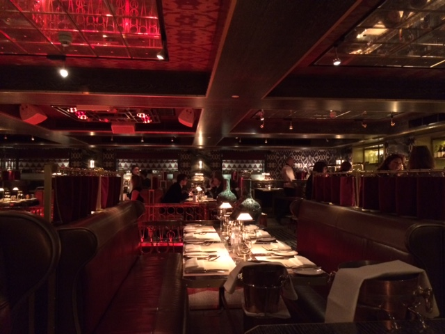 Bob Bob Ricard Red Dining Room