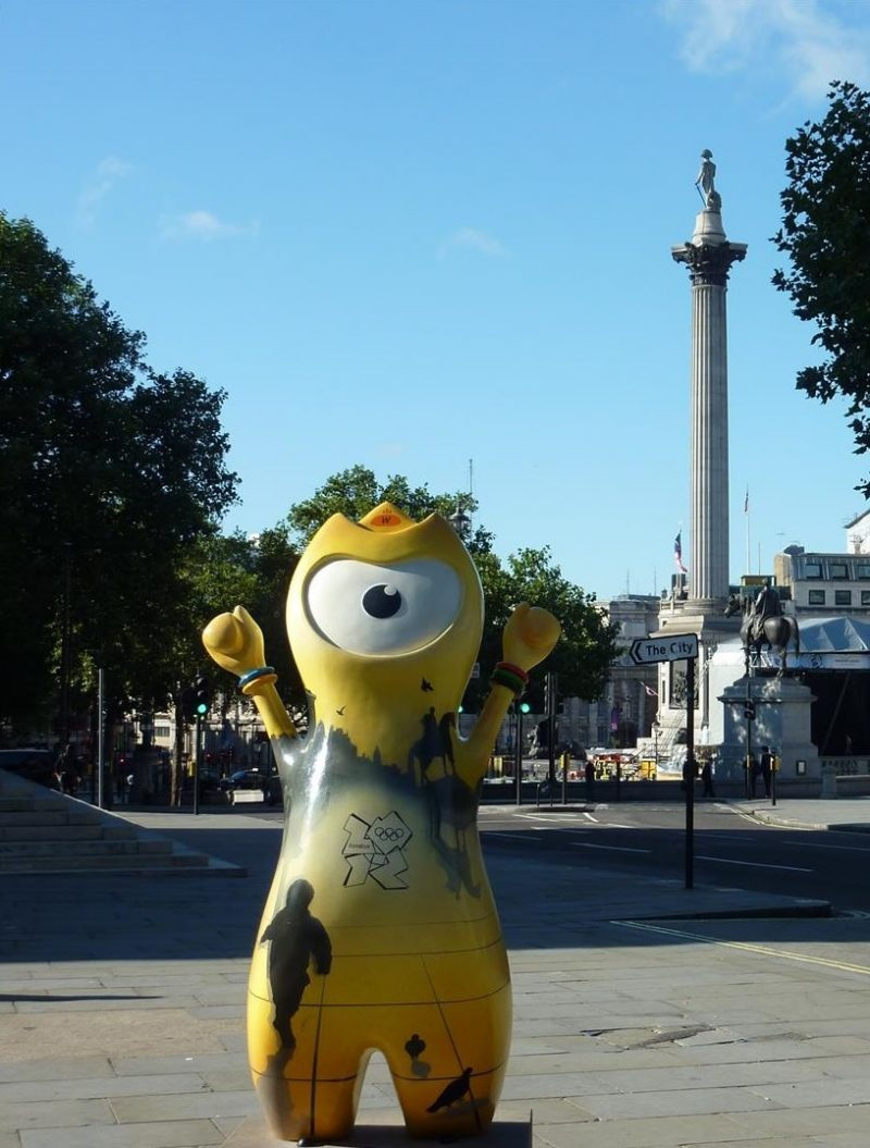 London itinerary - Trafalgar Square