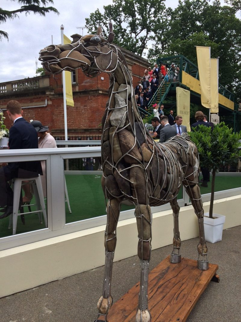 Royal Ascot 2016 - Rocky art