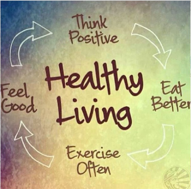 Nutritious food + Exercise = Healthy Body