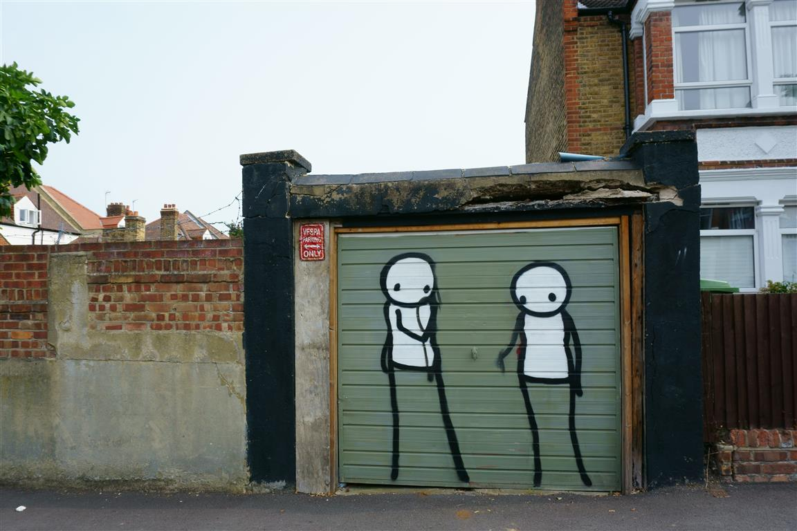 Street art of Dulwich Outdoor Gallery