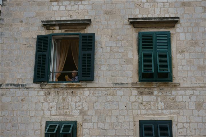 Dubrovnik windows