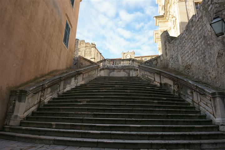 Jesuits' Staircase in Dubrovnik
