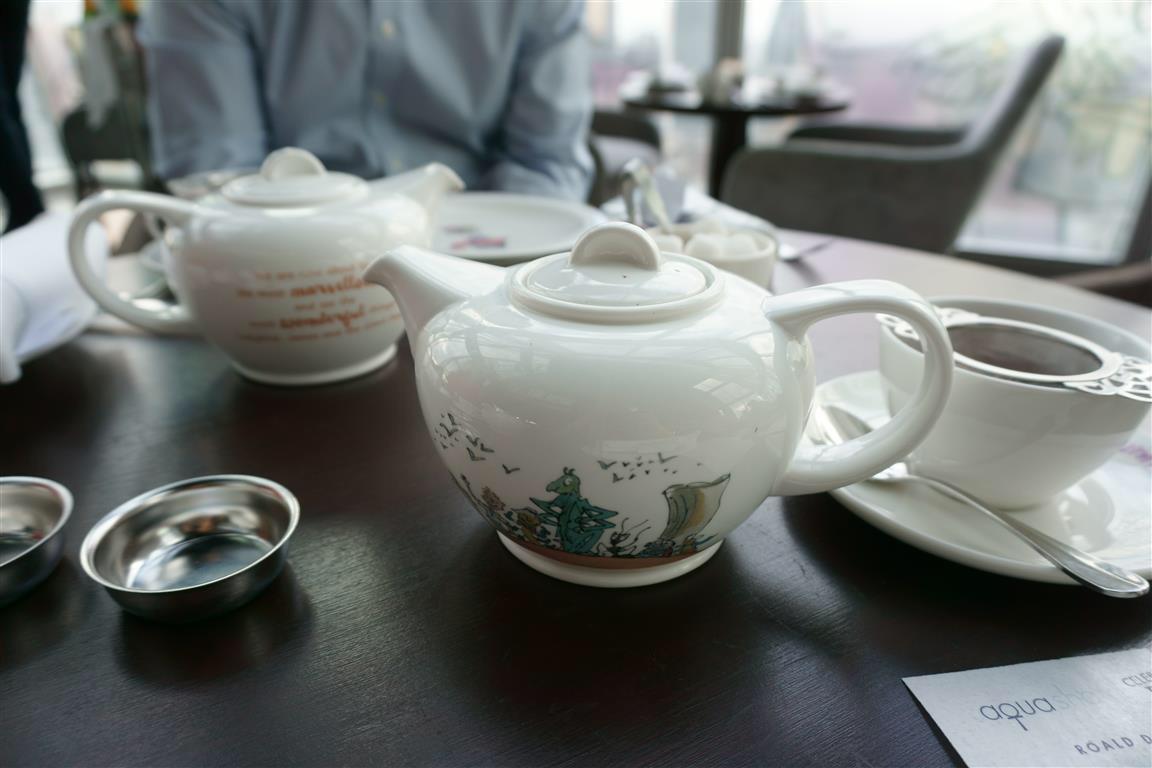Roald Dahl Afternon Tea Aqua Shard