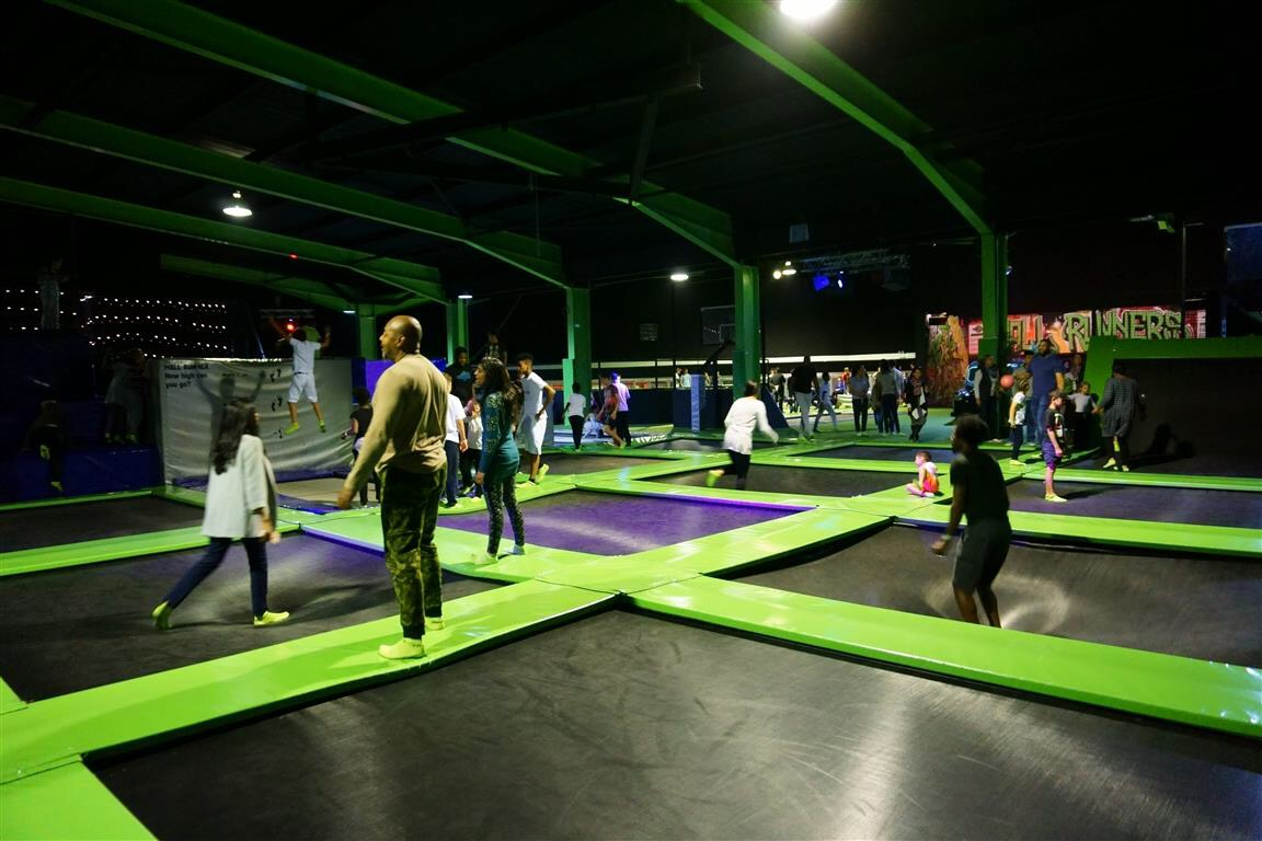 London Flip Out Trampolines