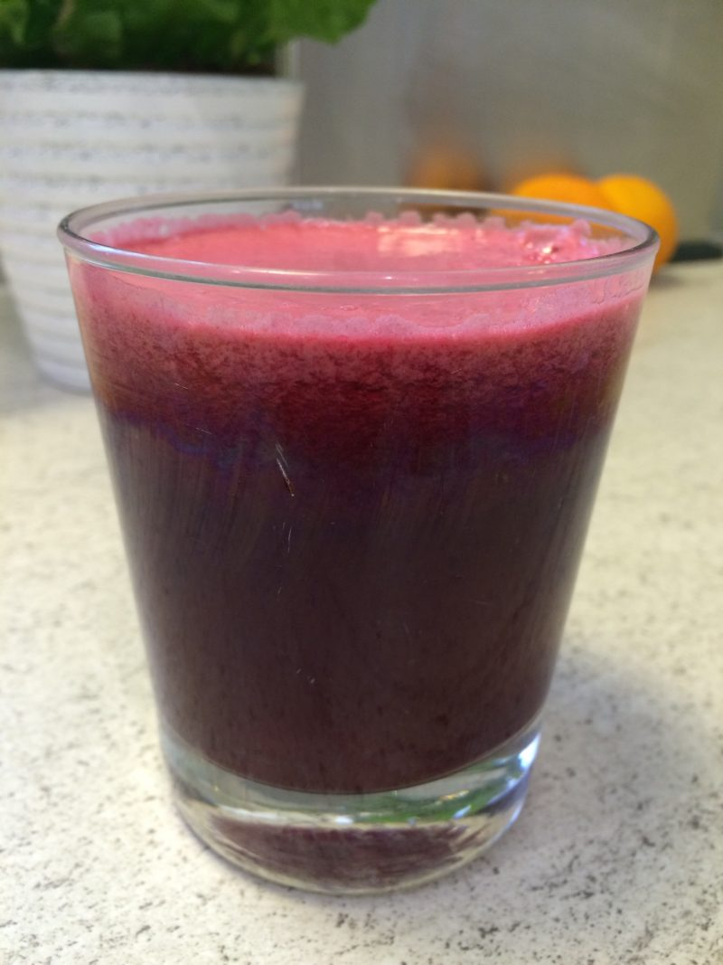 Energy boosting beetroot juice recipe